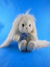 "Vintage Applause 7"" white bunny rabbit with long ears plush Sue Sona ADO... - $9.69"
