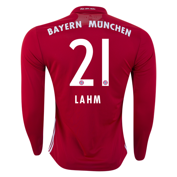 2016-17 Bayern Munchen Philipp Lahm #21 Home Replica Soccer Jersey S-XL (New)