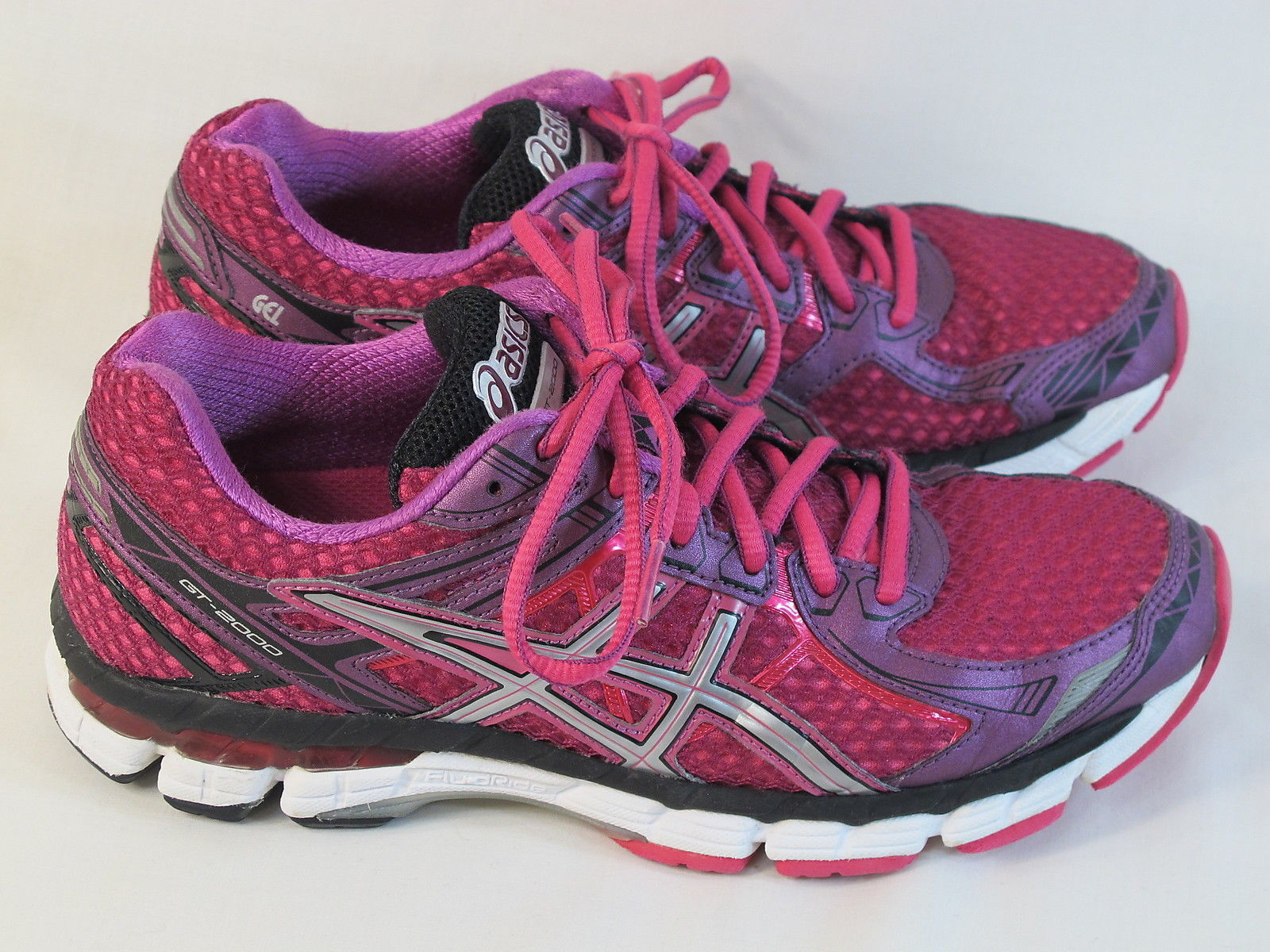 Primary image for ASICS GT 2000 2 Running Shoes Women's Size 8 US Excellent Plus Condition Purple