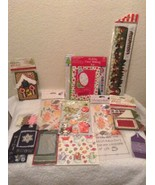 NEW Scrapbooking Stickers Jolee's Boutique & others Lot of 14 Holiday Lot 4 - $13.97