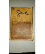 Caterpillar Parts Book - D333C Engine - S/N 66D1-UP, 70R1-UP   UEO70091 - $16.36
