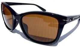 Oakley Drop In Sunglasses OO9232-15 Polished Black W/ Dark Bronze Lens  - $59.39
