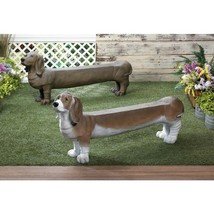 Resin Outdoor Doggy Bench Available in 3 Types - £164.33 GBP+