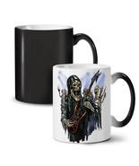 Guitar Metal Badass Skull NEW Colour Changing Tea Coffee Mug 11 oz | Wel... - $19.99