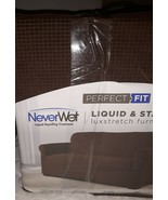 Perfect Fit NeverWet Luxury sofa Slipcover in Chocolate - $49.99