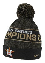 Nike Houston Astros 2017 World Series Champs Knit Hat w/ Removable Pom Nwt $32 - £12.08 GBP