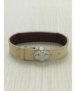 [Used] LOUIS VUITTON Bracelet / Leather / BEG for Women - $189.00