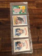 1986 Garbage Pail Kids Stickers Rack Pack Topps 24 Total SEALED Excellent Cond. - $199.99