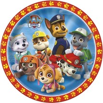 "Paw Patrol 8 9"" Paper Dinner Lunch Plates Nickelodeon Skye  Marshall - $3.79"