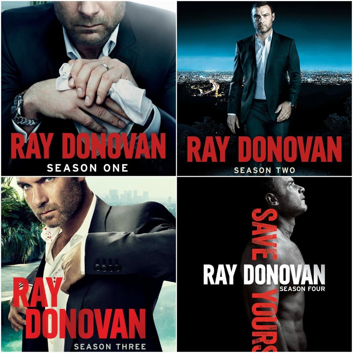Ray donovan season 1 4 dvd bundle 1 2 3 4 2