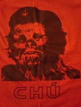 Chu, Che Guevara, Chewbacca, Star Wars, Small Mens T-Shirt - $8.95