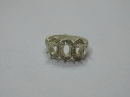 925 sterling Silver mount Ring,Oval 6X4 mm, RI-0134,ring,all size available - $10.50