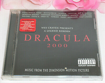 Primary image for Dracula 2000 Music From Dimension Movie 15 Tracks Gently Used CD 2000 Sony Music