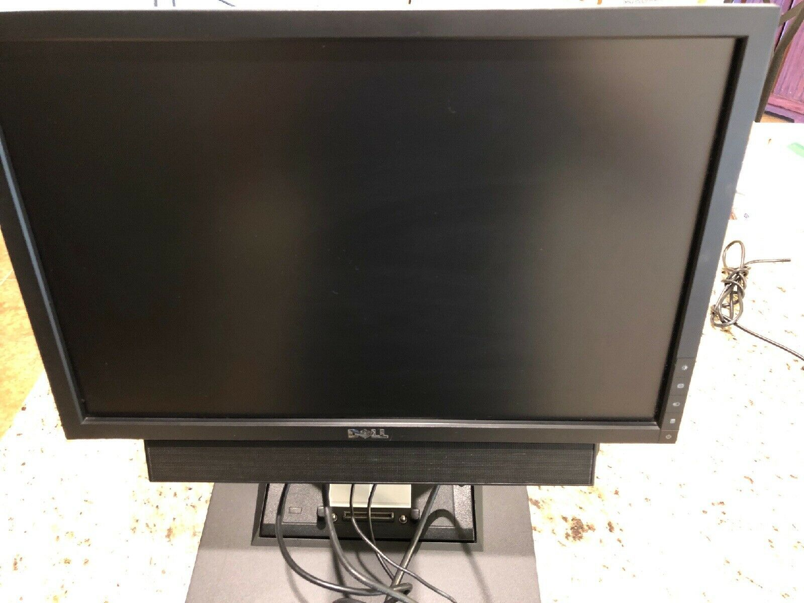 "Primary image for Dell RM361 17-24"" Stand W/1909W Monitor & docking station ForE-series Docks K07A"