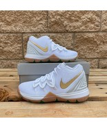 Nike Kyrie 5 Irish (PS) LITTLE KID'S VINTAGE BASKETBALL SNEAKER AQ2458-170 - $101.00