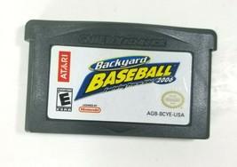 Backyard Baseball 2006 Nintendo Gameboy Advabce GBA Cartiridge Only Tested - $4.94
