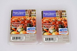 Better Homes & Gardens Scented Wax Cubes Farmhouse Pumpkin Patch Lot of 2 2.5oz - $9.89