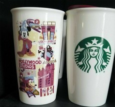 *NEW STARBUCKS DISNEY HOLLYWOOD STUDIOS Travel Tumbler Coffee Mug Cup 2018 - $59.39