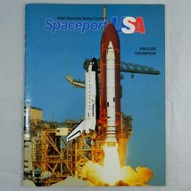 1990 NASA Kennedy Space Center Spaceport USA English Tourbook illustrate... - $7.83