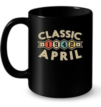 Retro Classic Vintage APRIL 1942 Awesome 76 Years Old Being Gift Coffee Mug - $13.99+