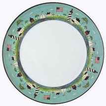 "Warren Kimble COASTAL BREEZE Lighthouses 12-1/2"" Heavy Platter Chop Plat... - $24.99"