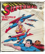 "Superman 33 1/3 Record -7""-Neal Adams #2304 1975-Power-Mr Mxyztplk-Up Me... - $31.53"