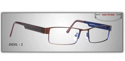 Prescription Rx safety glasses (wide frame) - Glasses ...