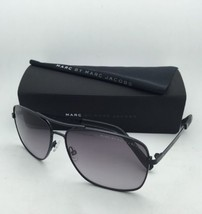 MARC By MARC JACOBS Sunglasses MMJ 342/S 006 EU Black Aviator Frame w/ Grey Fade