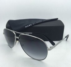 MARC By MARC JACOBS Sunglasses MMJ 444/S 6LBJJ Ruthenium Aviator Frame w/ Grey