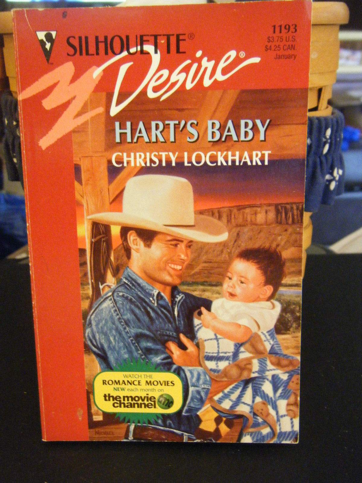 Primary image for Hart's Baby by Christy Lockhart (1998, Paperback)