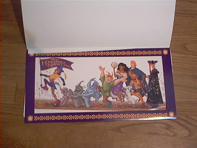 Walt Disney Hunchback of Notre Dame lithograph litho