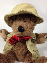Boyds Bears JB Bean Teddy Bear Thayer Fisherman Plush Fishing Hunting Vest  - $11.99