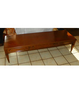 Mahogany Mersman Coffee Table with Drawer - $399.00