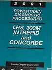 Primary image for 2001 CHRYSLER LHS CONCORDE DODGE 300M INTREPID CHASSIS DIAGNOSTIC Manual OEM 01