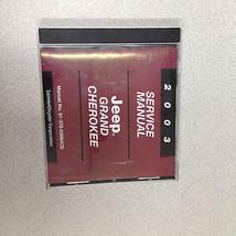 2003 JEEP GRAND CHEROKEE Service Shop Workshop Repair Manual CD DVD OEM  - $153.39