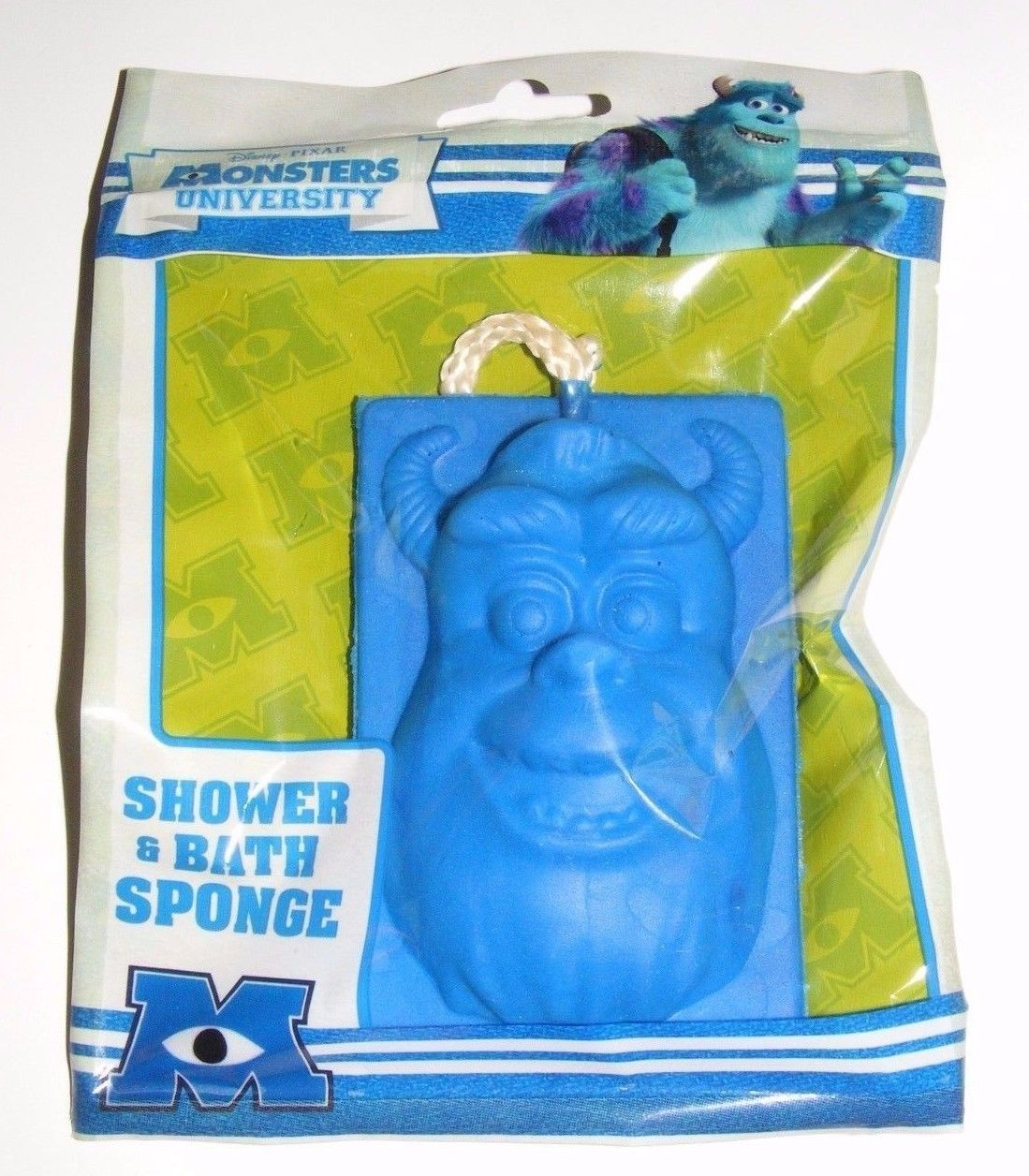 Primary image for Disney Pixar Monsters University Shower and Bath Sponge NEW