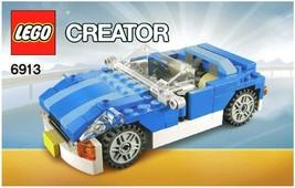 LEGO Creator Blue Roadster 6913 INSTRUCTION MANUAL - $11.00