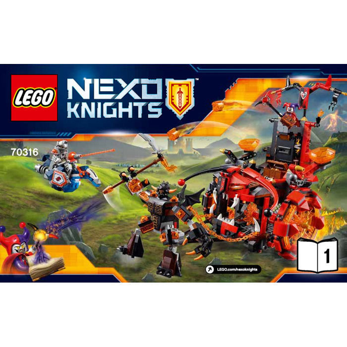 Primary image for LEGO Nexo Knights Jestro's Evil Mobile 70316 INSTRUCTION MANUAL