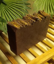 chocolate soap, handmade soap, bath and body, health and beauty - $5.50