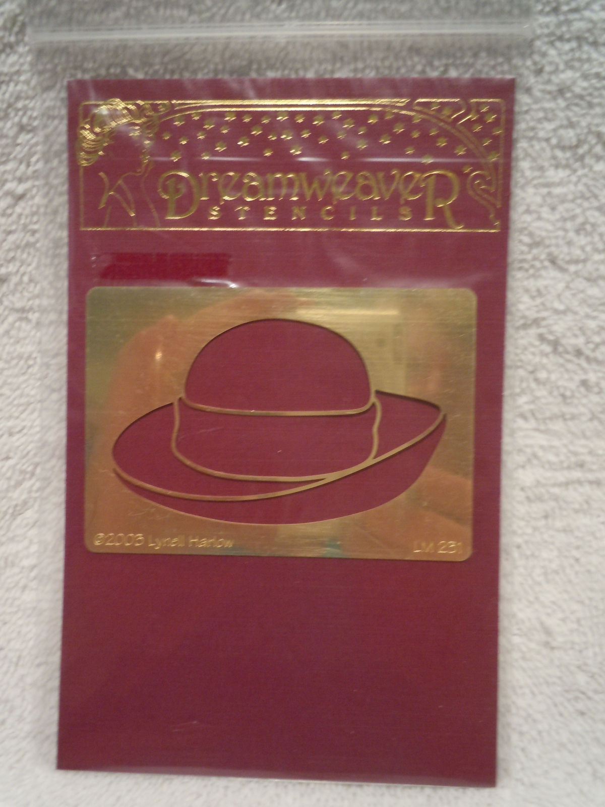 Primary image for Dream Weaver Embossing & Stenciling Hat New