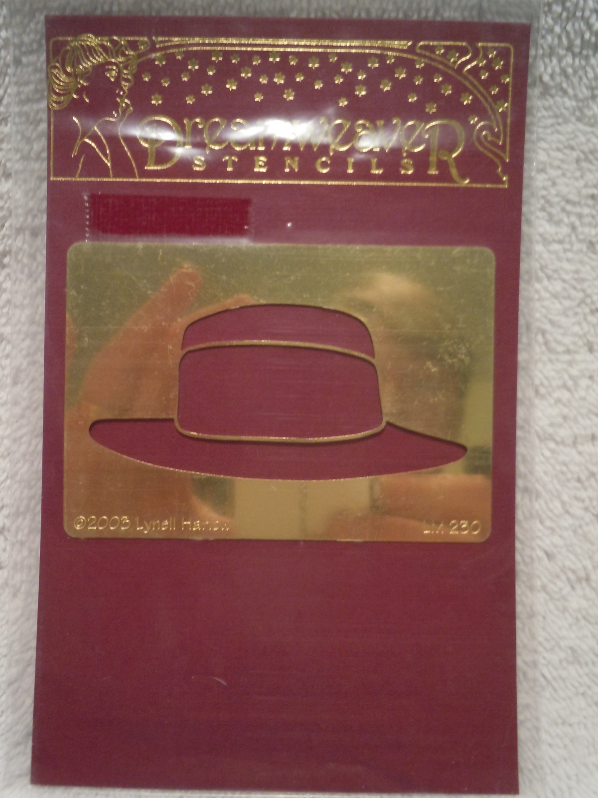 Primary image for Dream Weaver Embossing & Stenciling Men's Hat New