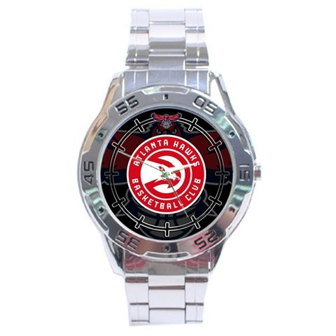 Primary image for Atlanta Hawks NBA Stainless Steel Analogue Men's Watch Gift
