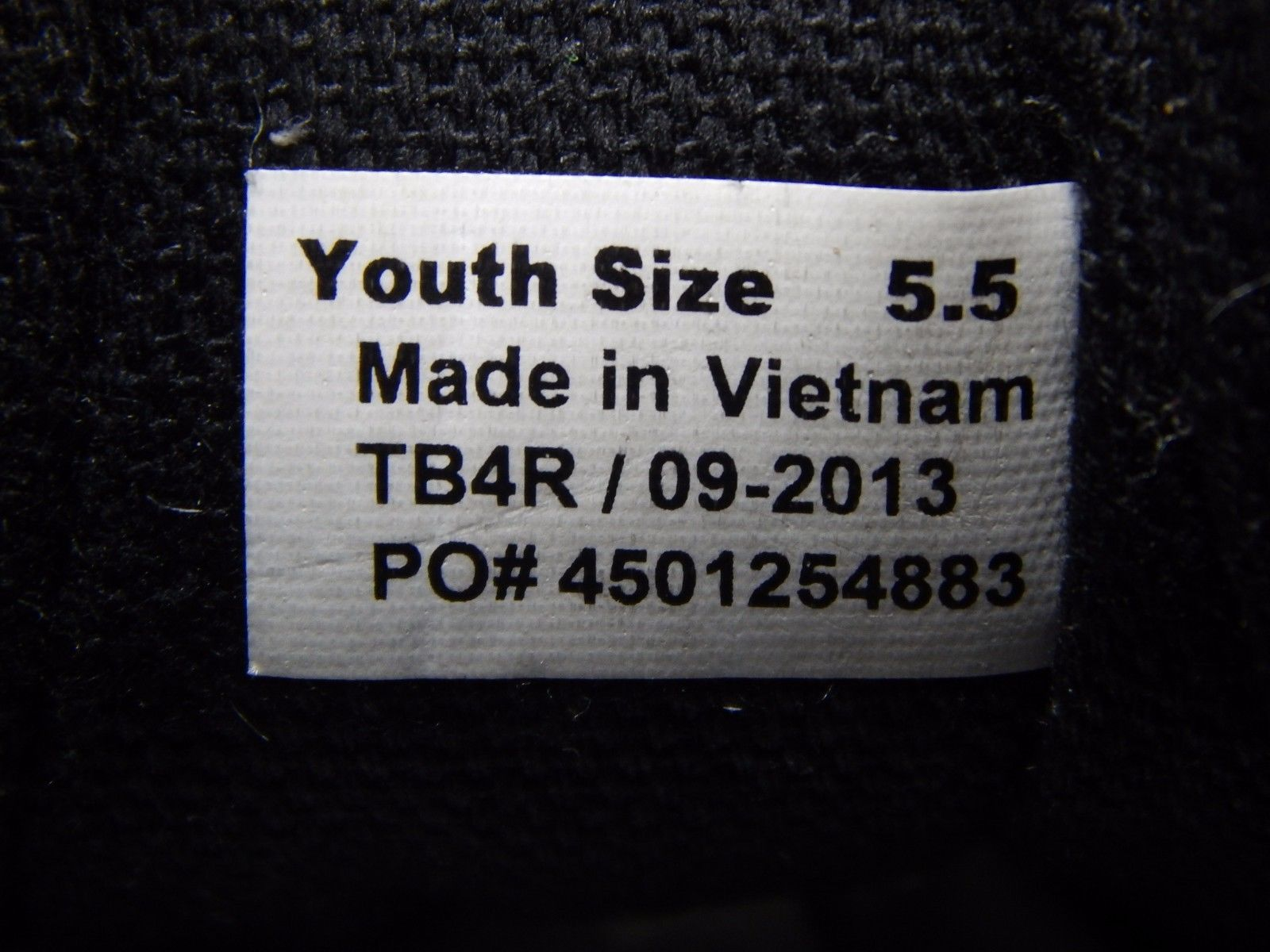 Vans Women's Boy's or Girl's Youth Casual Skate Shoes Sneakers Size US 5.5 Y