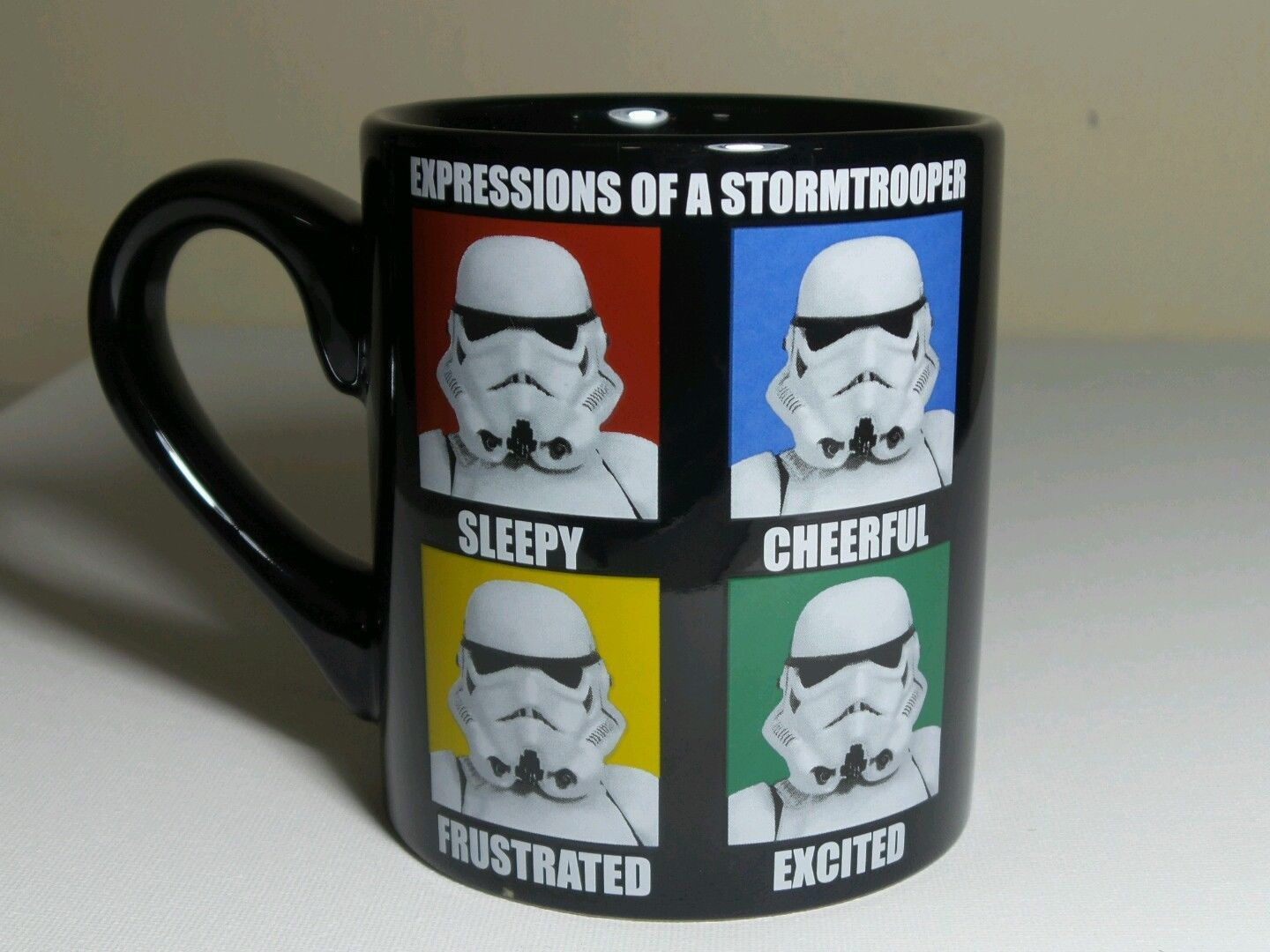 Funny New Star Wars Expressions of a Storm Trooper Novelty Coffee Mug