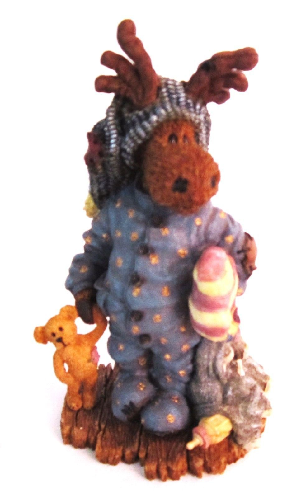 "Primary image for Boyds Bears Moose Troop ""Edgar Mooselfluff w/ Acorn.. Moosenap"" #36902-  2000"