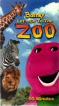 Let's Go to the Zoo Vhs image 1
