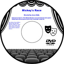 Mickey's Race, or Mickey's Derby Day 1933 DVD Movie Culture & Society Mi... - $3.99