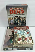 Walking Dead Board Game Lot By Z-MAN Games With 5 Comics & Zombie Dash Boardgame - $22.03