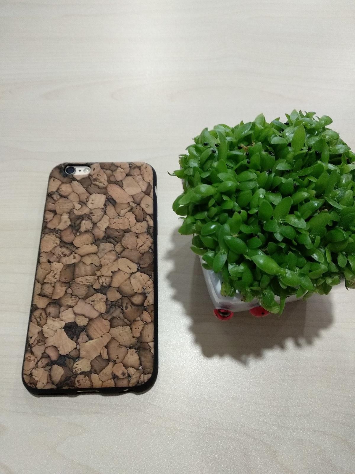 EcoQuote iPhone 6 / 6s Handmade Phone TPU + Soft Cork Case Finishing for Vegan