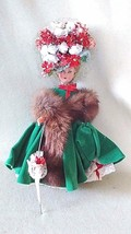● Vintage Hard Plastic Doll in Edwardian Costume - $9.90